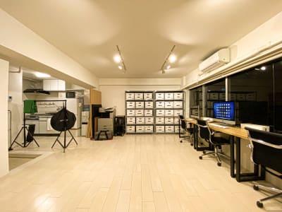 ご入室された時の初期状態/夜 - 西麻布撮影スタジオ 六本木駅近 レンタルスタジオ&ワークスペースの室内の写真