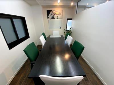 代官山スペースZ 会議室の室内の写真