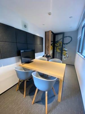 ジャパン・プロパティーズ株式会社 六本木JP4名会議室の室内の写真