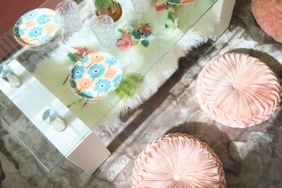 こだわりの食器類も可愛いです✨ - ココリアCute横浜 とっても可愛いプライベート空間の室内の写真
