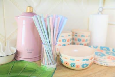 食器もかわいい✨ - ココリアCute横浜 とっても可愛いプライベート空間の室内の写真