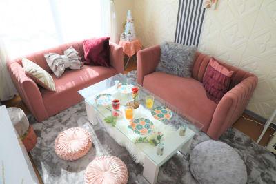 Francfrancコーデ✨ - ココリアCute横浜 とっても可愛いプライベート空間の室内の写真