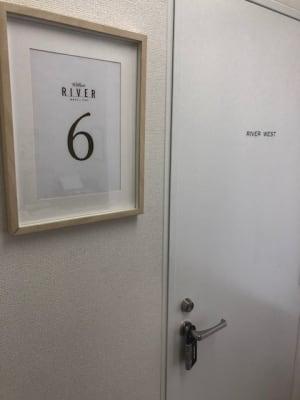 RIVERVILLAS 多目的スペース【6階】の入口の写真