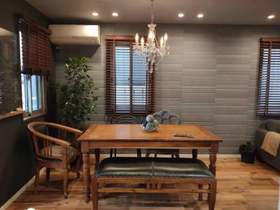 6人がけ テーブル - おうちカフェ sima sima 女子会スペースの室内の写真