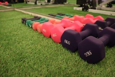 カラダメンテ レンタルトレーニングジムの設備の写真