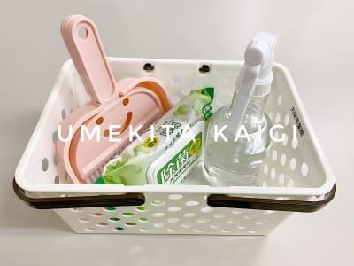 清掃グッズ - 共栄実業(株) 幸福相互ビル うめきた会議室413(最大6名)の設備の写真