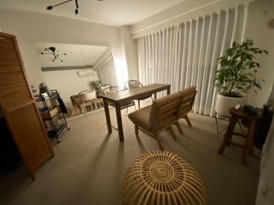 夜は落ち着いた雰囲気に - 1cho room 青山一丁目・外苑前すぐ✨の室内の写真