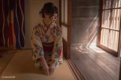 モデル「藤野美亜」さん - 大阪ゲストハウス緑家 ゲストハウス緑家/1階和室の室内の写真