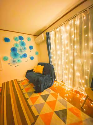 ハミング新大久保店 パーティールームの室内の写真
