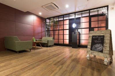 入口(エントランス) - Regg Aoyama REGG-1名部屋 Bタイプの入口の写真