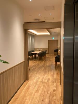 シズラー東京国際フォーラム店 Bゾーン個室の入口の写真