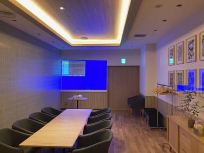 シズラー東京国際フォーラム店 Bゾーン個室の設備の写真