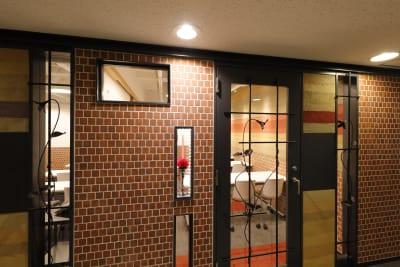 入口扉 - 恵比寿カルフール Aルームの室内の写真