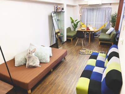 JK Room テルマー湯近く店 パーティースペース2の室内の写真