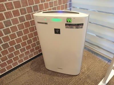 空気清浄機 - 恵比寿カルフール ギャラリールームの設備の写真