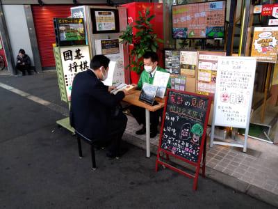 【設置例】 企業様の商品案内や、契約業務にもご利用いただけます。 - 大京クラブ【レンタルスペース】 【 軒先スペース 】の室内の写真