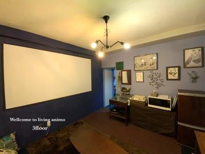 シアタールーム - リビングanimo 2部屋ある多目的スペースの室内の写真