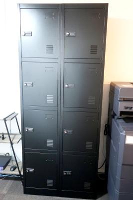 貴重品ロッカーもあります。ダイヤルロック式ですので鍵の紛失などなく安心です。 - レンタルスペース zest 2階 会議室、サロンスペース!の設備の写真