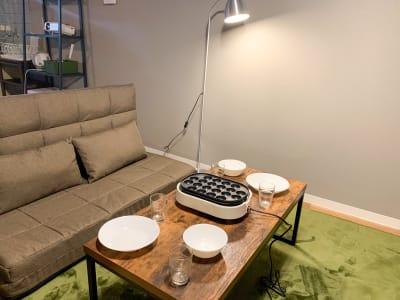 タコパもできちゃいます🎉 - Sonaroom Sonaroom✨【高崎市】の室内の写真