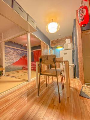 ハミング新宿店 和モダンroom の室内の写真