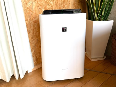 コロナ対策としてプラズマクラスター加湿空気清浄機を設置しています。 - レンタルサロンわいわい レンタルサロンの室内の写真