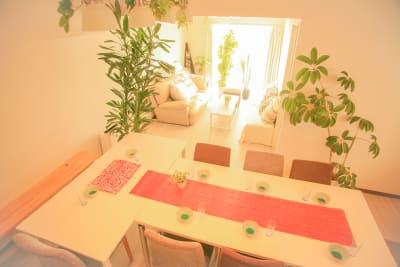 南向きのダイニングキッチンです - Chikusa Premium Goen Premiumの室内の写真