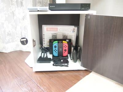 SwitchのJoy-Conは2セット(4個)ございます。ソフトは設備の欄に書いております。 - Latteなんば🧸 🧸ラテなんば🧸の室内の写真