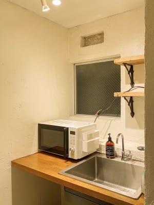 キッチン設備 - 西麻布スタジオ 六本木ヒルズ前 レンタルスタジオ&ワークスペースの室内の写真