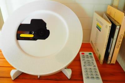 Bluetooth対応のCDラジカセ♬スパ、Café等のCD置いてます。 - RUE大塚 自習室の設備の写真