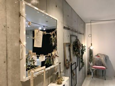 Salon de miyabi レンタルサロンの入口の写真