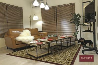 【ALTERNA柏】 レンタルスペースの室内の写真