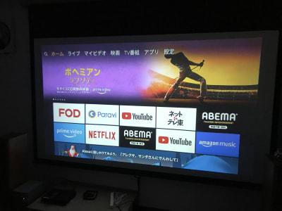 Amazon Fire TV 繋がっています📺✩.*˚ - レンタルームふじみ野 音楽♪🆗 映画会、誕生日会等✨の室内の写真