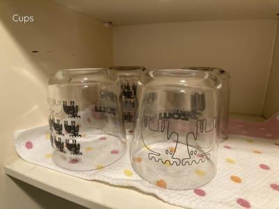 グラスは4個ございます。 - ◆エブリ梅田東◆レンタルサロン★ エステスペース、多目的スペースの設備の写真