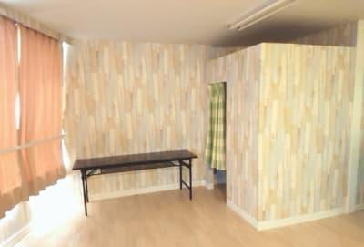 更衣室完備 - 権現ビル すたじお空(くう)の室内の写真