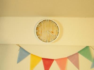 時計 - オシャレンタル池袋 撮影・パーティースペースの室内の写真