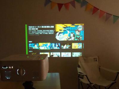 プロジェクター - オシャレンタル池袋 撮影・パーティースペースの室内の写真