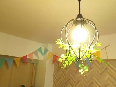 ペンダントライト - オシャレンタル池袋 撮影・パーティースペースの室内の写真