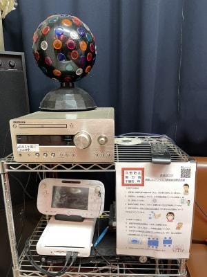 スタジオM  第2 京成稲毛駅前 ダンスレンタルスタジオBルームの設備の写真