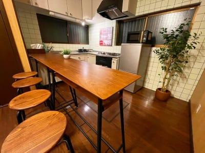 1F キッチンスペース - 【新今宮】SI06 タスワンスペースの室内の写真
