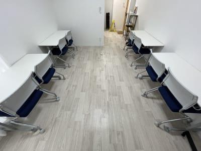 スペースフライト名駅プレミアム プレミアム会議室の室内の写真