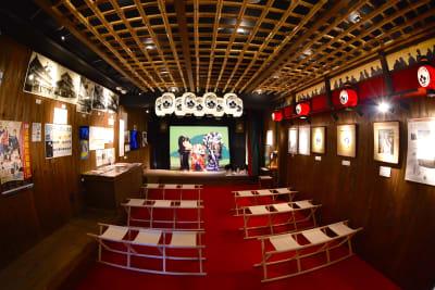 道頓堀ミュージアム並木座 演芸場使用の室内の写真