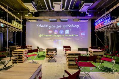 通常のホワイエはこんな風になってます。 - Theatel sapporo  スクリーン付きイベントスペースの室内の写真