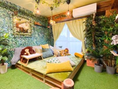 くつろぎペースです。 - H.R.S.O 大須ジャングル Heavenly大須ジャングルの室内の写真