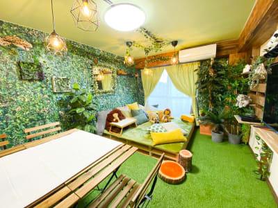 ジャングルをイメージしたお部屋になります(^^) - H.R.S.O 大須ジャングル Heavenly大須ジャングルの室内の写真