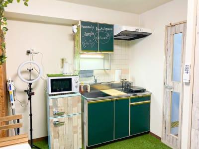 キッチンです(^^) お料理お楽しみください♪ - H.R.S.O 大須ジャングル Heavenly大須ジャングルの室内の写真