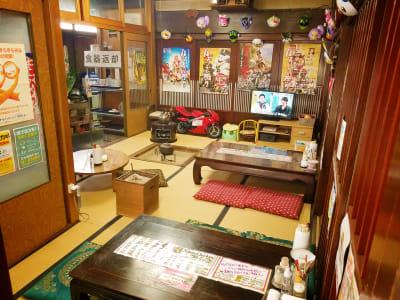築130年の古民家です - ラーメン食堂996鶴来店 シェアハウス、シェア店舗、の室内の写真