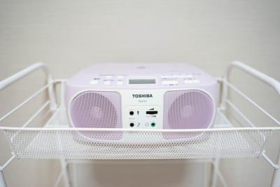 CDプレイヤーです。 - 静岡レンタルスタジオコロン レンタルスタジオの設備の写真