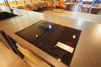AEG IHクッキングヒーター - KLASI COLLEGE 土日祝利用 レンタルキッチンの設備の写真