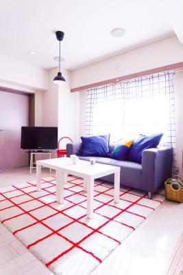 ゆったり3人掛けソファ - sima sima西宝町 女子会・パーティールームの室内の写真