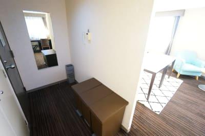豊橋駅前プライベートスペース 豊橋駅前プライベート828の室内の写真